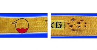 браковка стропов текстильных