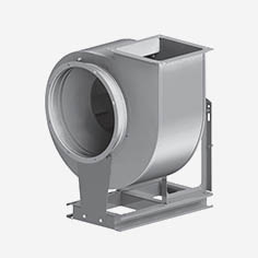 вентиляторы среднего давления радиальные